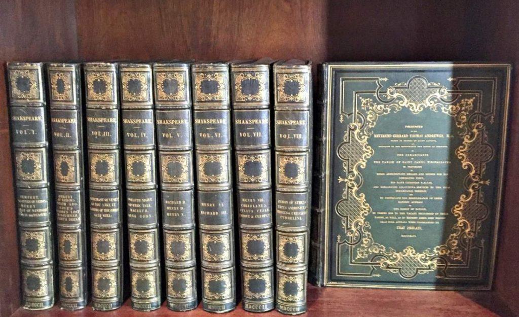Memorial Jk Coleção Shakespeare