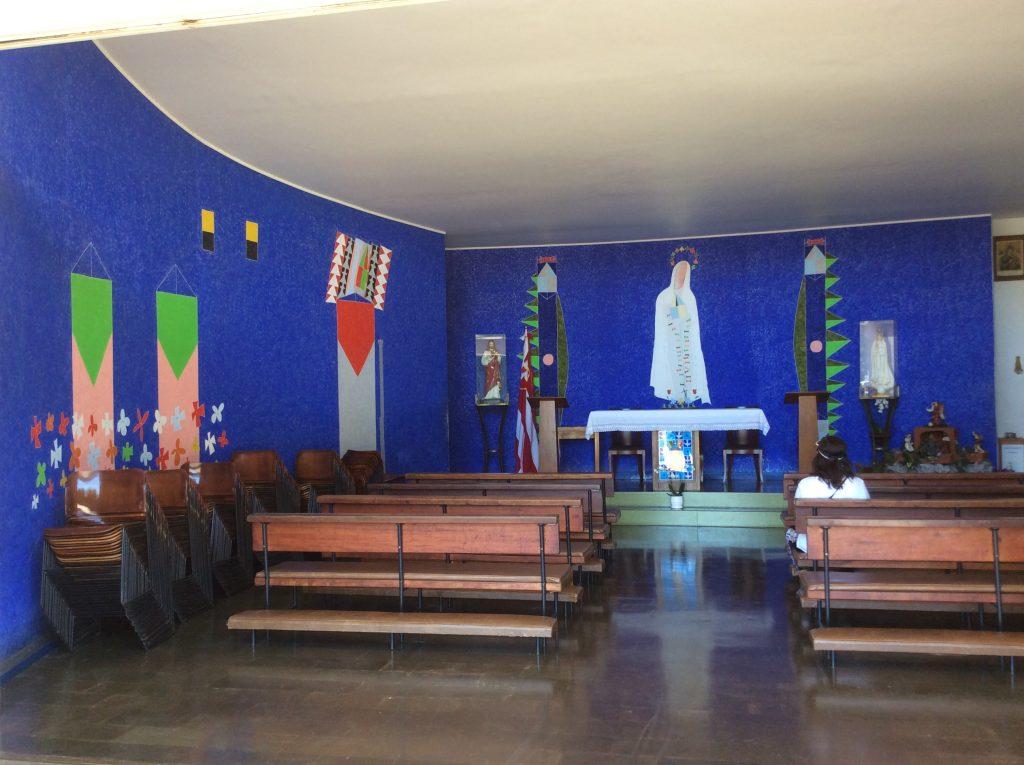 Igreja Nossa Senhora de Fátima interior