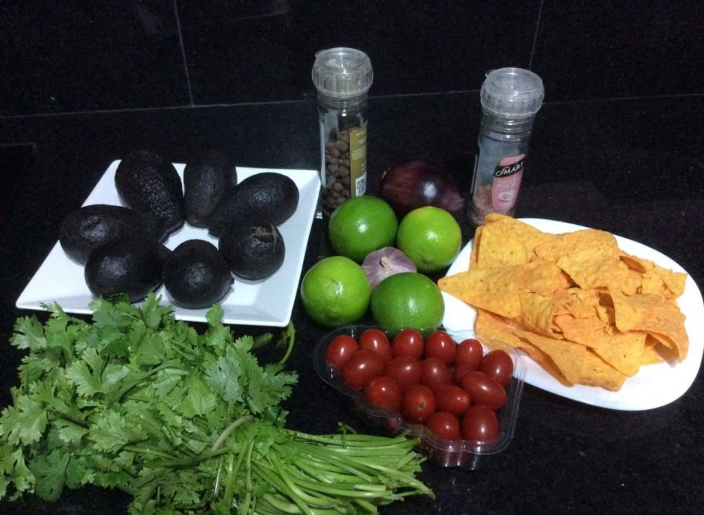 Guacamole Ingredientes