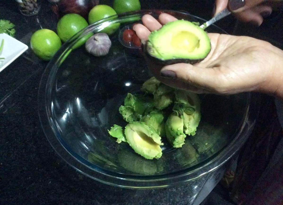 Guacamole Polpa Abacate
