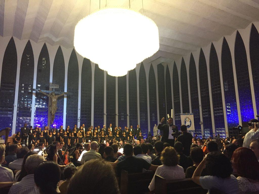 Orquestra Sinfônica de Brasilia na Igreja Dom Bosco