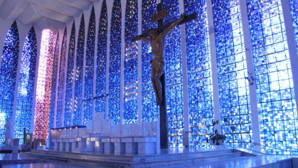 Santuario Dom Bosco Cristo Crucificado