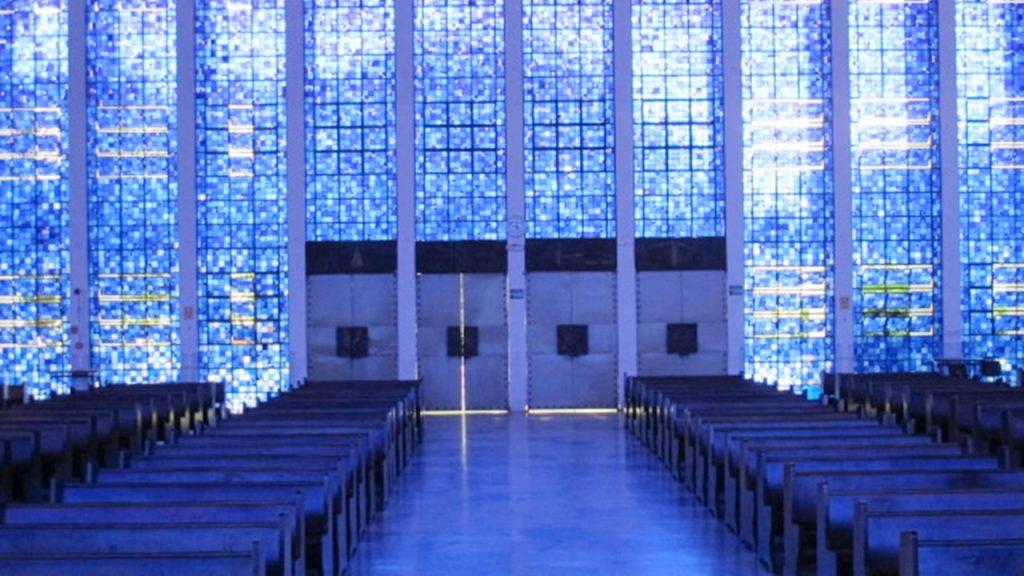 Igreja Dom Bosco -vitrais