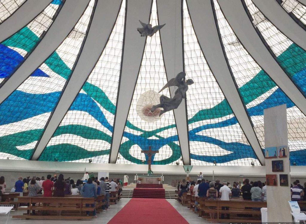 Brasilia Catedral Metropolitana Vitrais