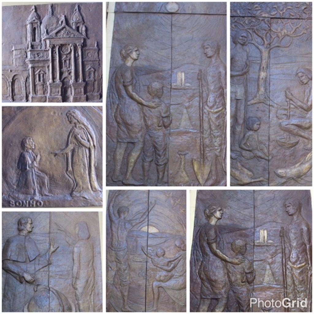 Igreja Dom Bosco Esculturas bronze