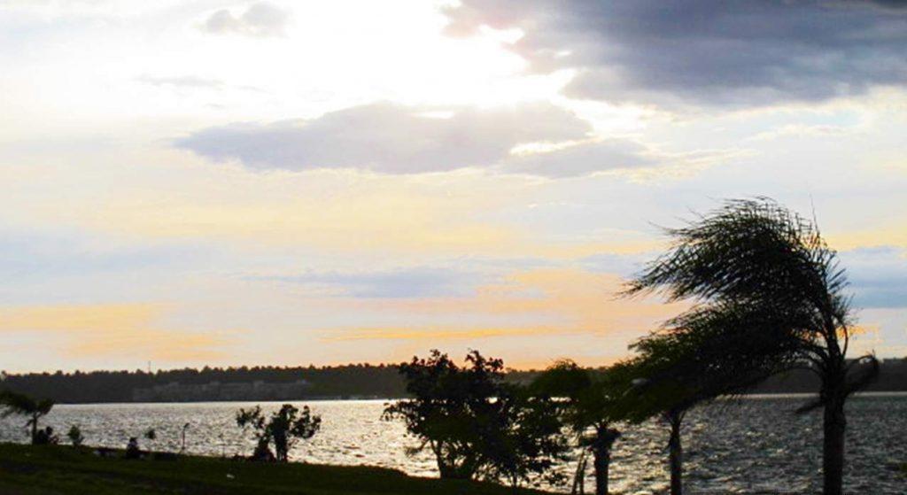 Ermida Dom Bosco por do sol Brasilia
