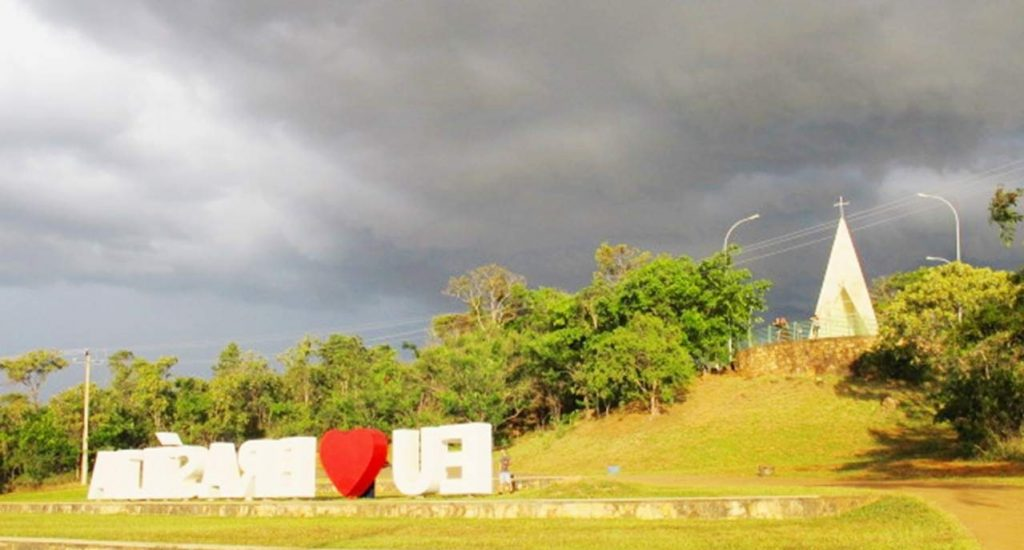 Ermida Dom Bosco vista Brasilia