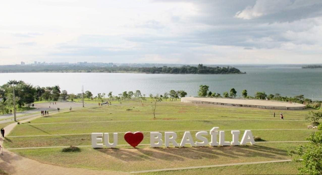 Ermida Dom Bosco vista lago Brasilia