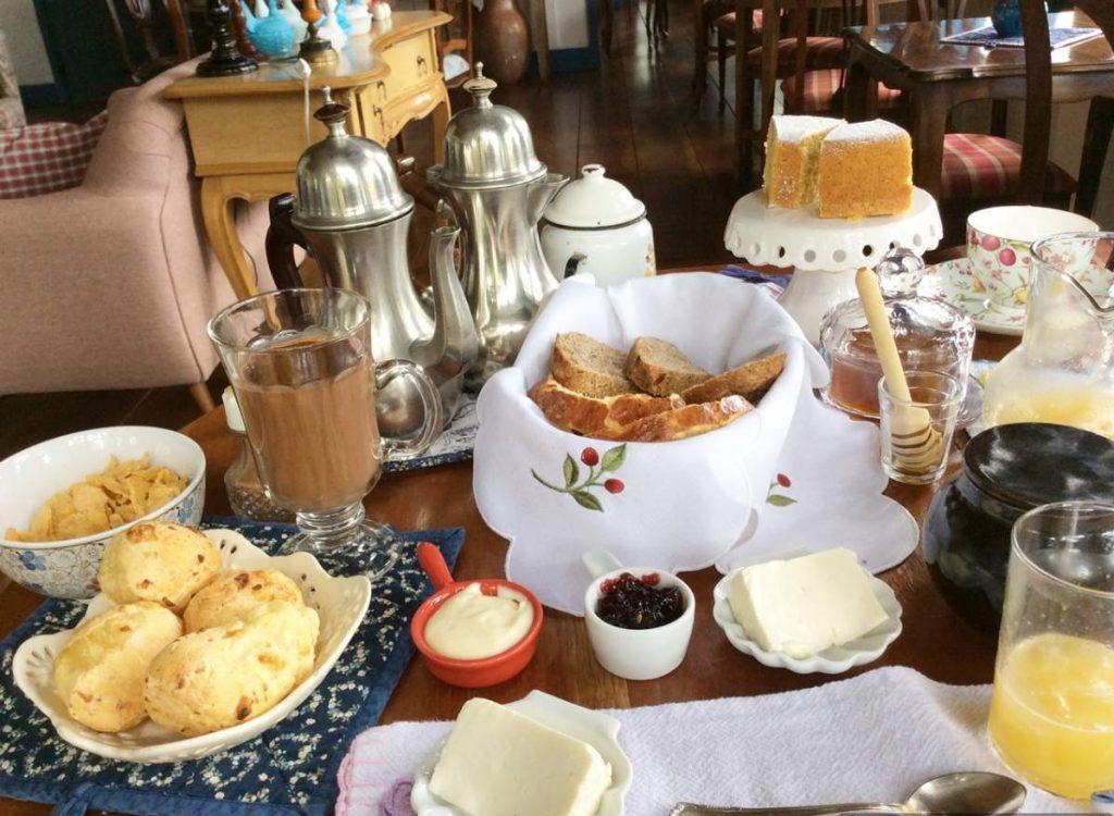 Monte Verde Provence Cottage Cafe da Manha