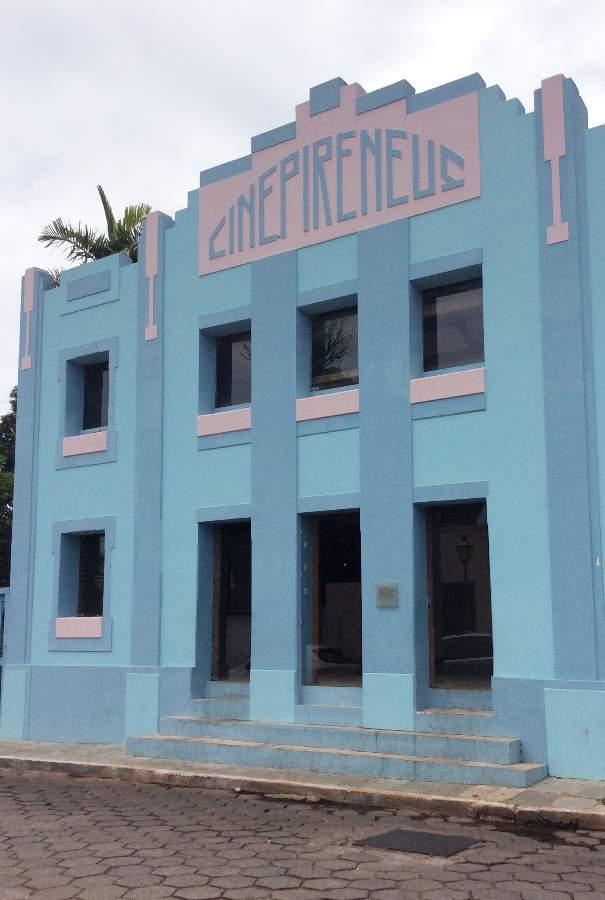 Pirenópolis o que fazer Cine Pirineus
