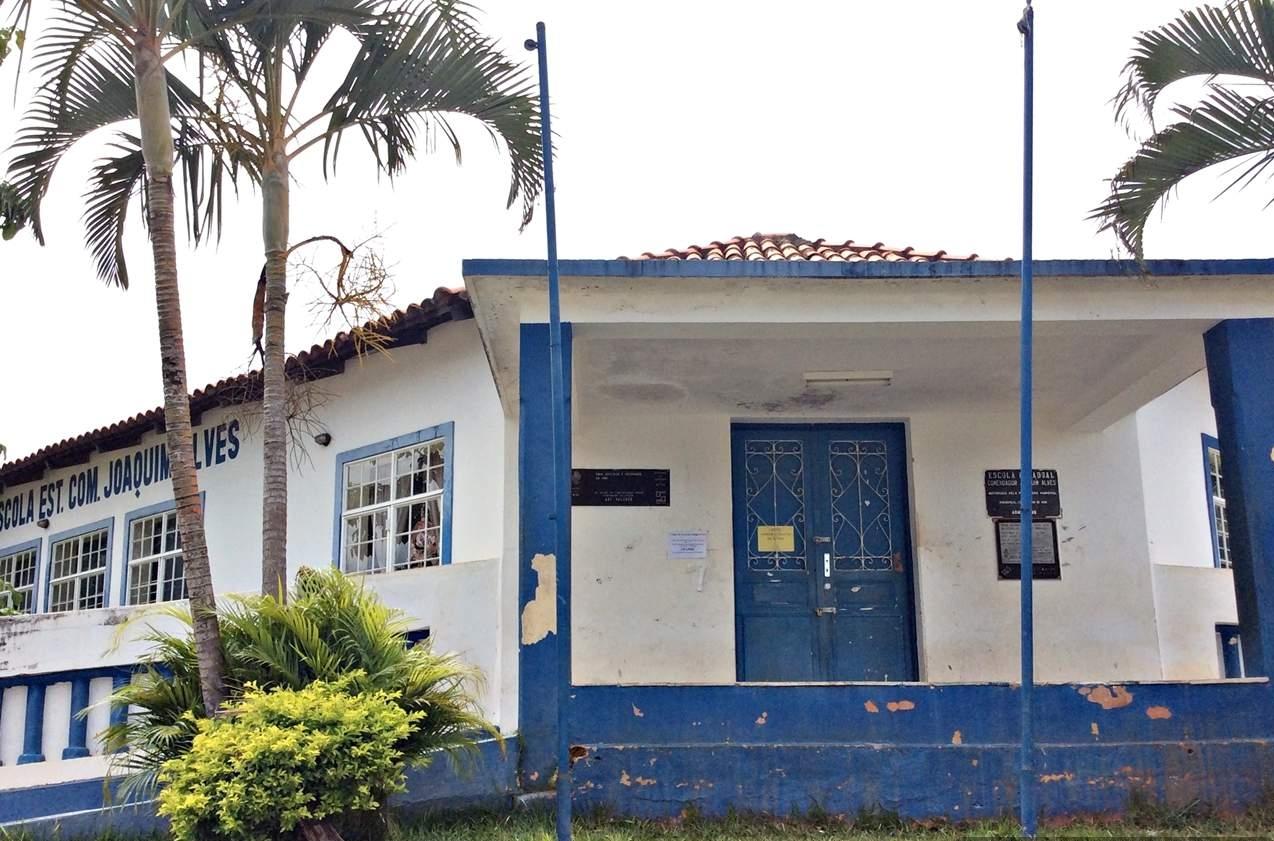 Pirenópolis o que fazer Escola Estadual Joaquinm Alves