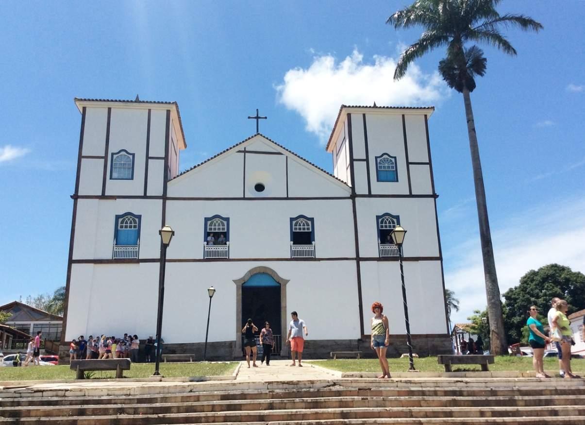 Pirenópolis o que fazer Igreja Matriz 2