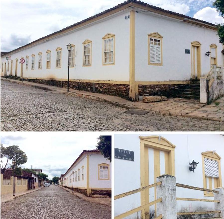 Pirenópolis o que fazer Museu da Família Pompeu