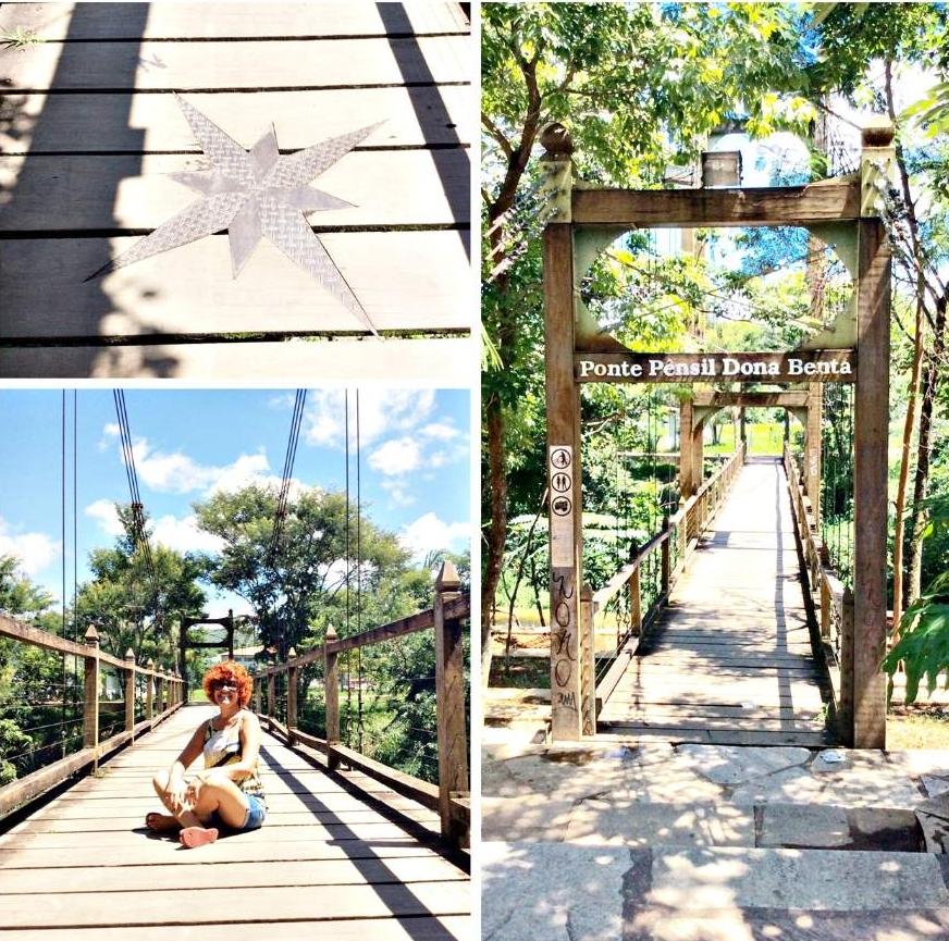 Pirenópolis o que fazer Ponte Pensil Dona Benta