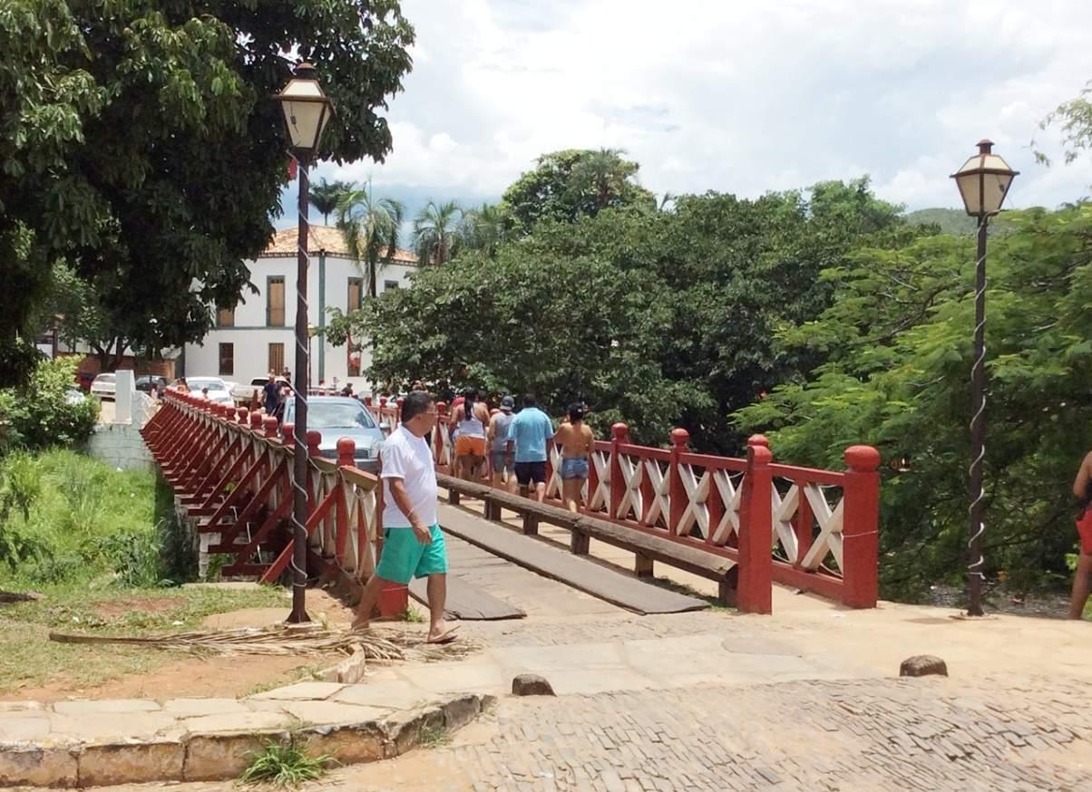 Pirenópolis o que fazer Ponte sobre Rio das Almas