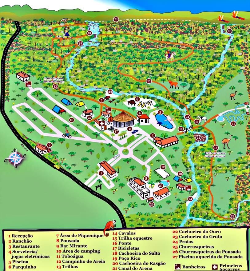 Salto Corumbá Mapa