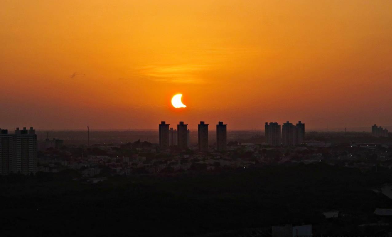 Eclipse Solar em Natal/RN