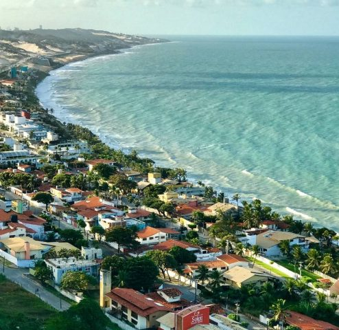 Onde hospedar em Ponta Negra com vista espetacular