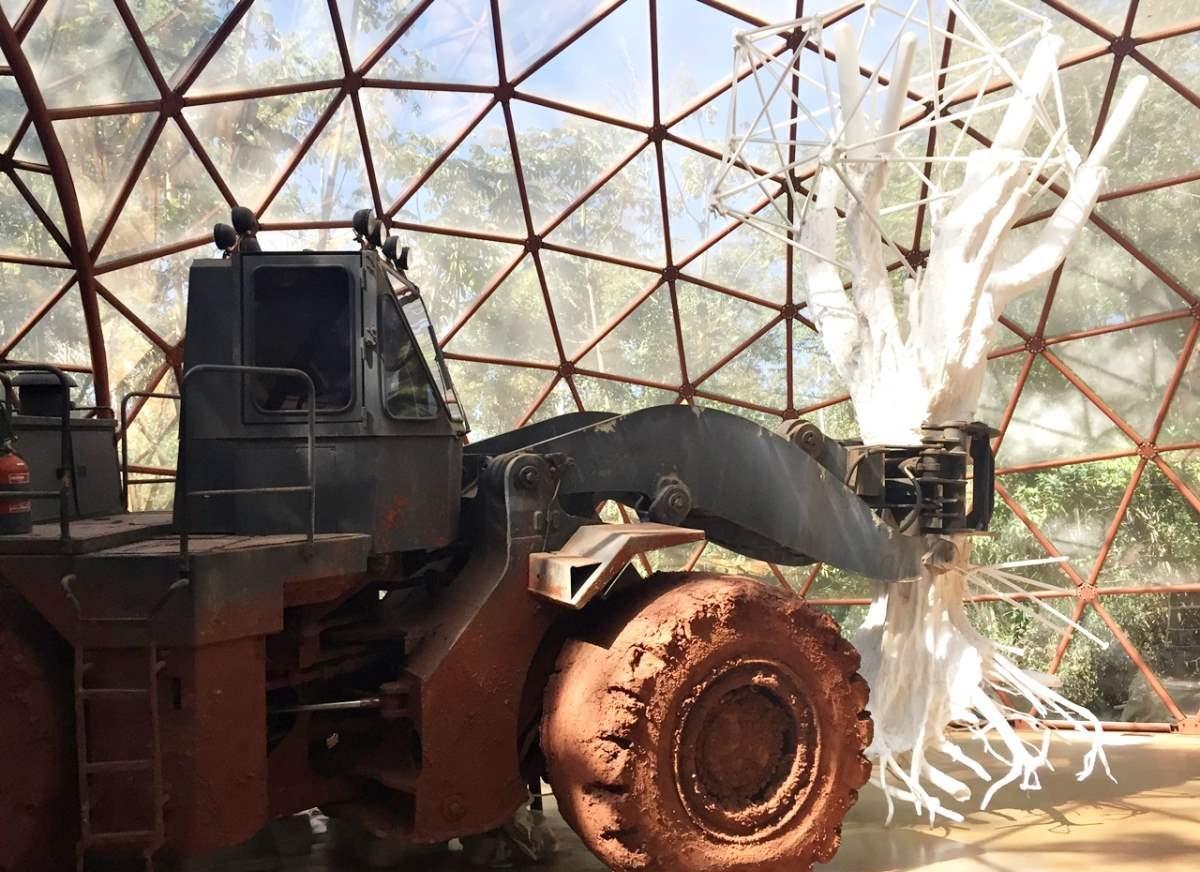 O que Fazer em Inhotim, escultura Matthew Barney