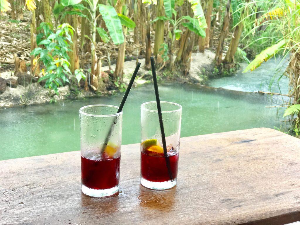 Tao Paradise, drink de boas vindas