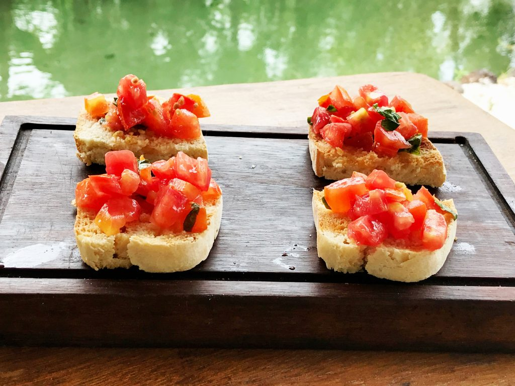 Tao Paradise-gastronomia gourmet italiana - bruschettas