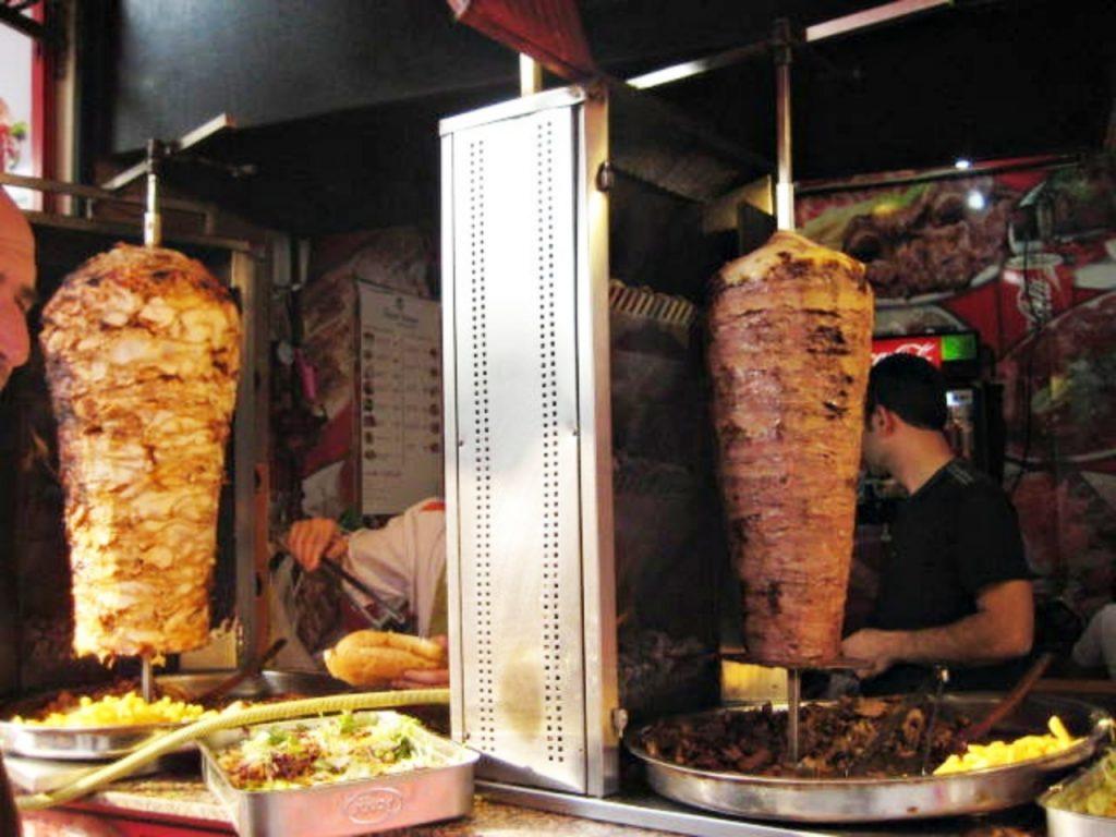 Istambul, cidade mágica - Kebab