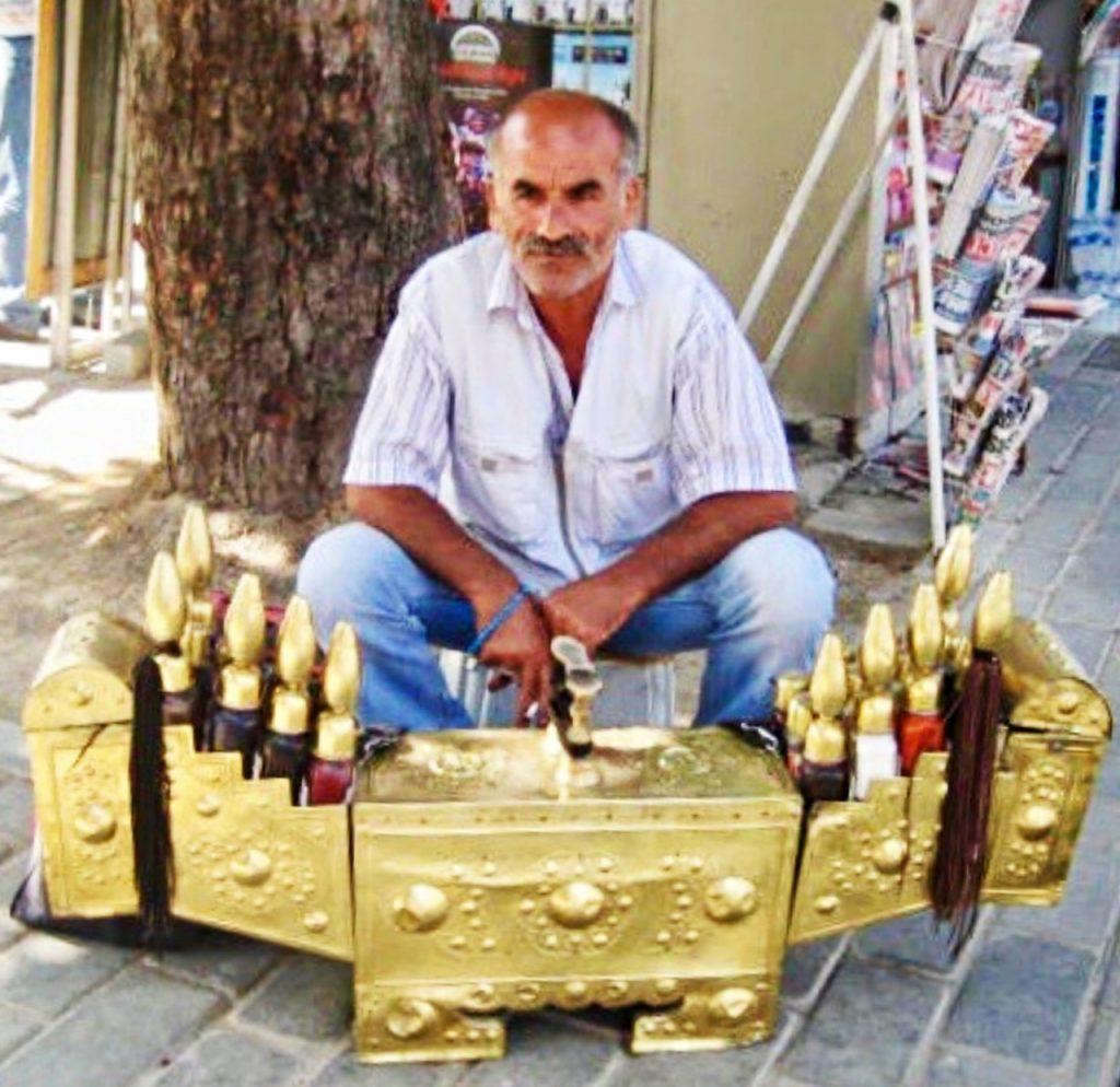 Istambul - Sapateiro de Rua
