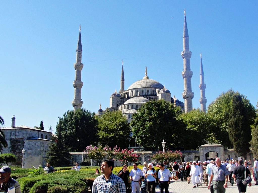 Istambul, cidade mágica - Mesquita Azul