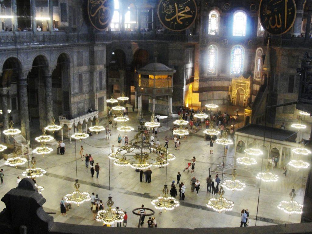 Istambul, cidade mágica - Basilica Santa Sofia