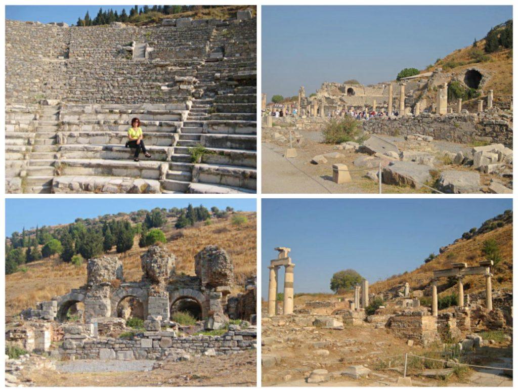 10 dias na Turquia - Ruínas da famosa cidade de Éfeso