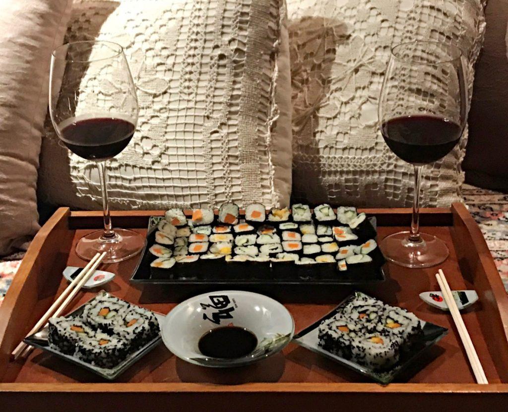 Receita de Sushi Harmonização
