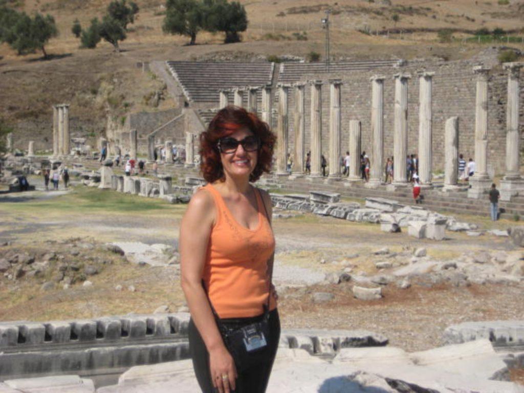 10 Dias na Turquia - Pérgamo, ruínas do hospital