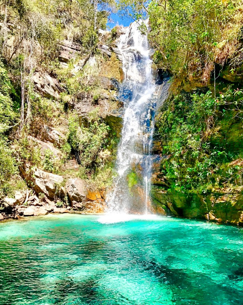 Cachoeira Santa Bárbara, Cavalcante-Goiás