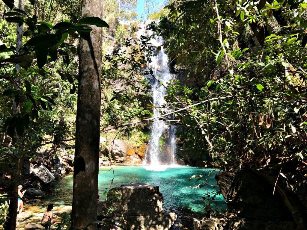 Cachoeira Santa Bárbara Cavalcante-Goiás
