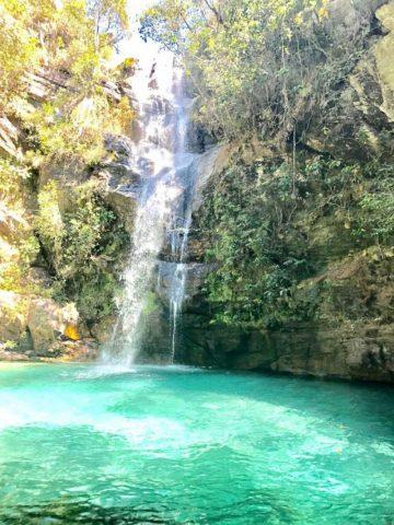 Chapada dos Veadeiros – cachoeira Santa Bárbara, uma das maravilhas de Goiás