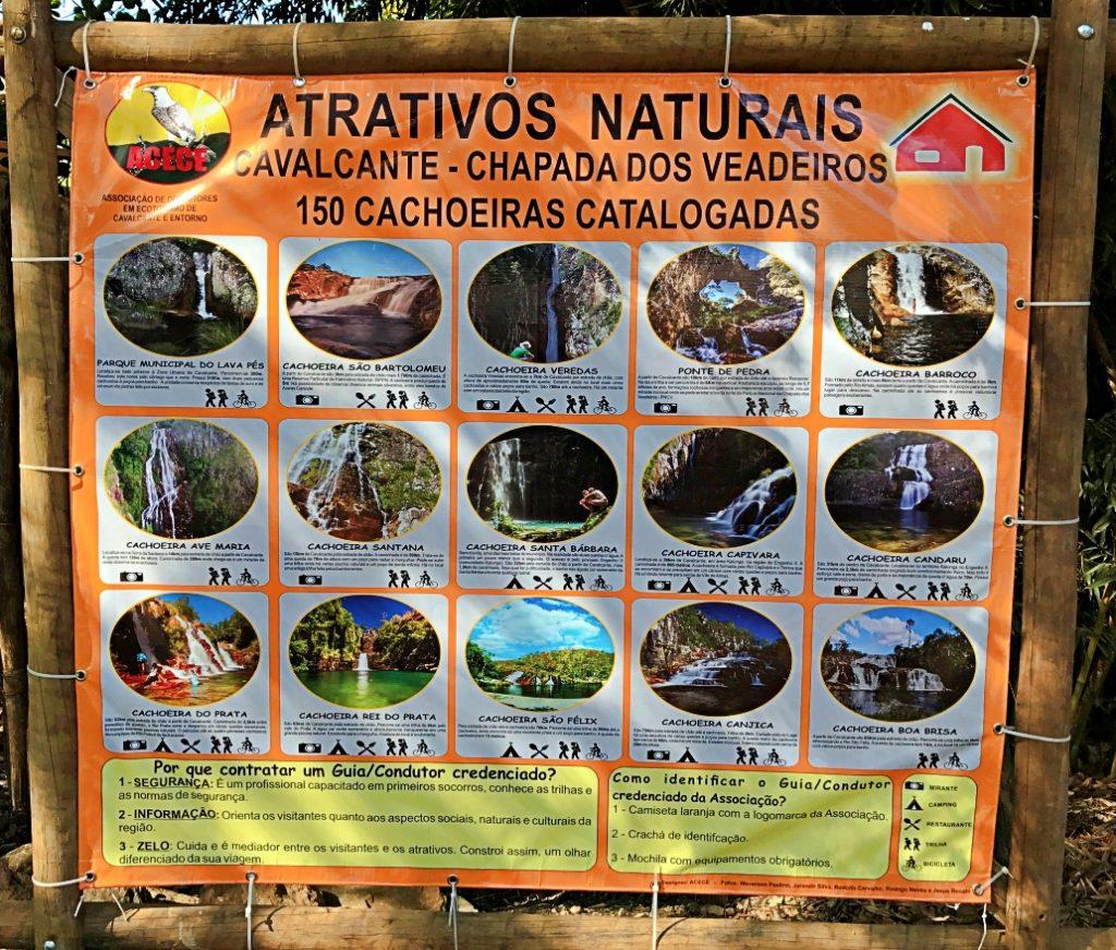 Cachoeiras Cavalcante/Goiás - Cachoeira Santa Bárbara