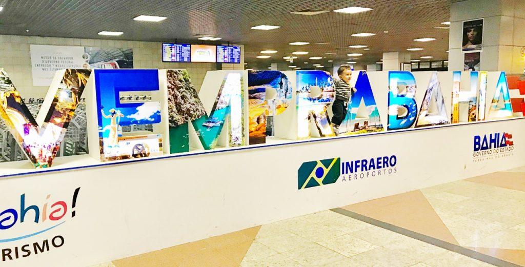 Aeroporto Salvador-Bem-vindo à Bahia