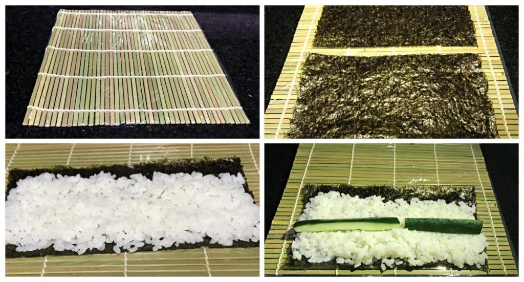 Receita de Sushi Hoso Maki