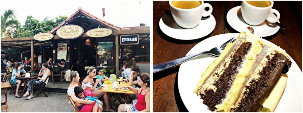 Atrações Gastronômicas na praia do Forte - Tango Café