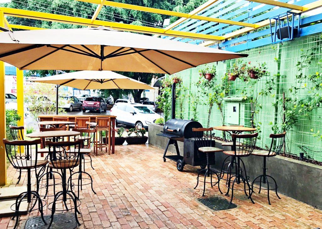 Restaurante Caminito Parrilla em Brasília-entrada