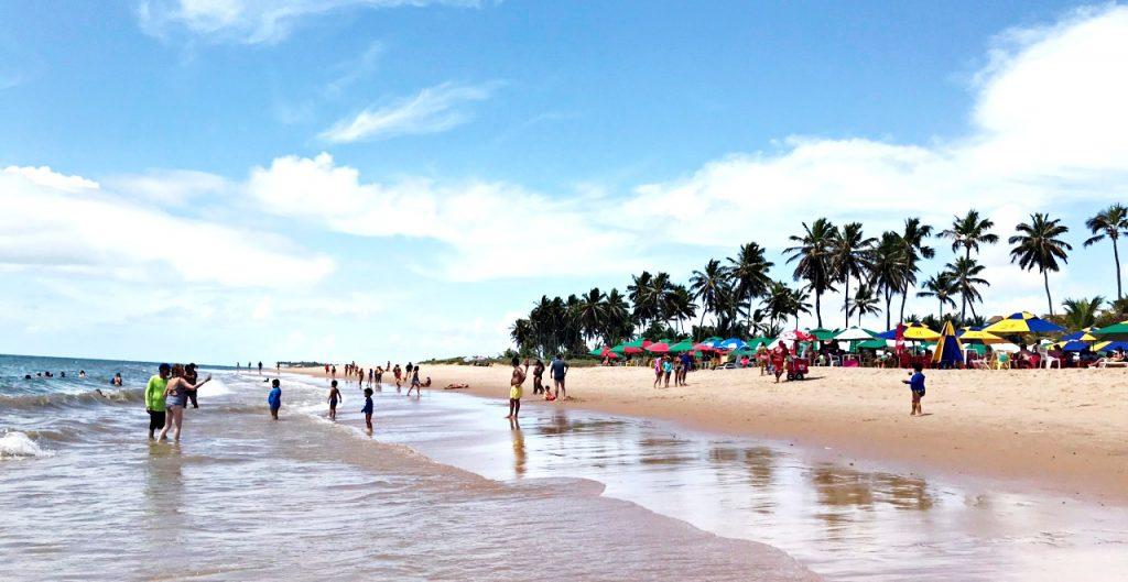 O que fazer em Guarajuba - praia