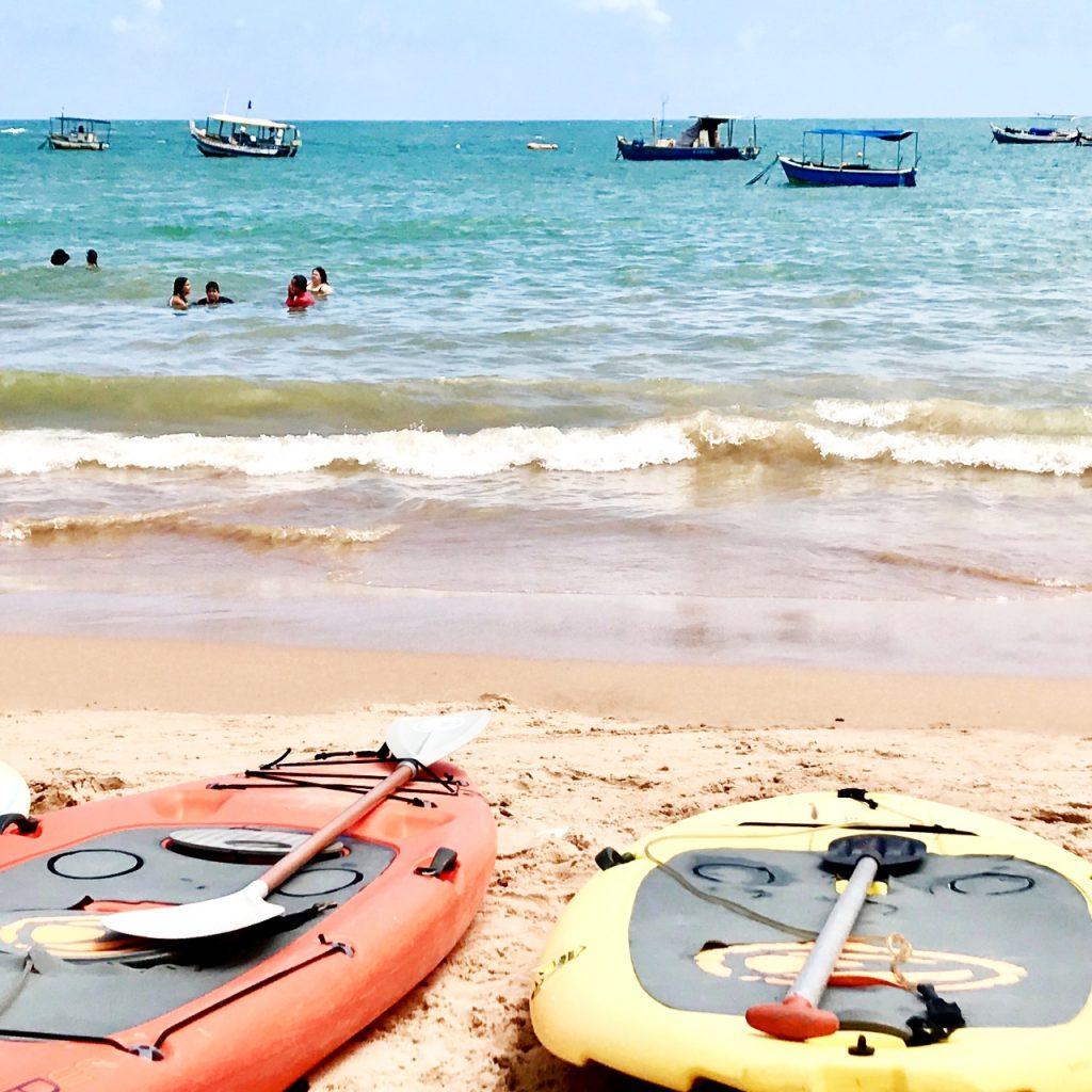 O que fazer em Guarajuba - Esportes Aquáticos