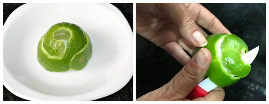 Pastel de Belém - casca de limão