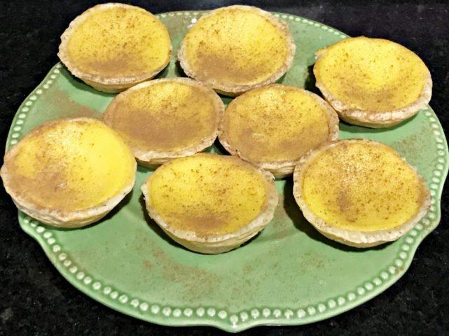 Pastel de Belém ou pastel de nata, receita