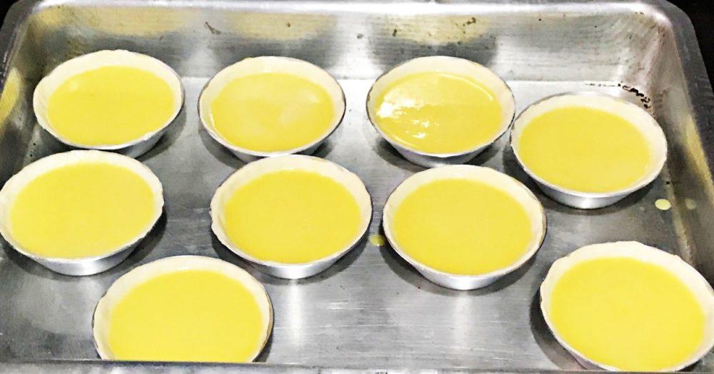 Pastel de Belém - forno