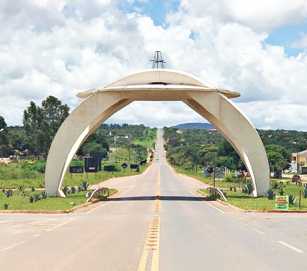 Portal da Cidade de Alto Paraíso de Goiás