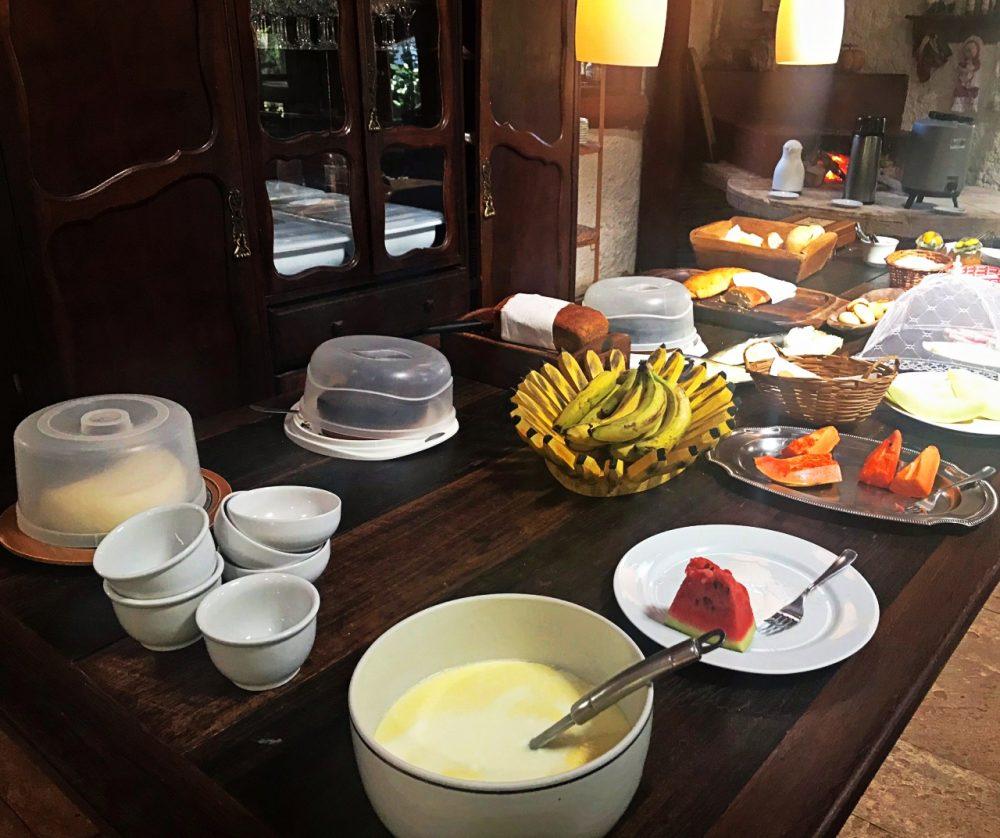 Pousada Fazenda São Bento - café da manhã
