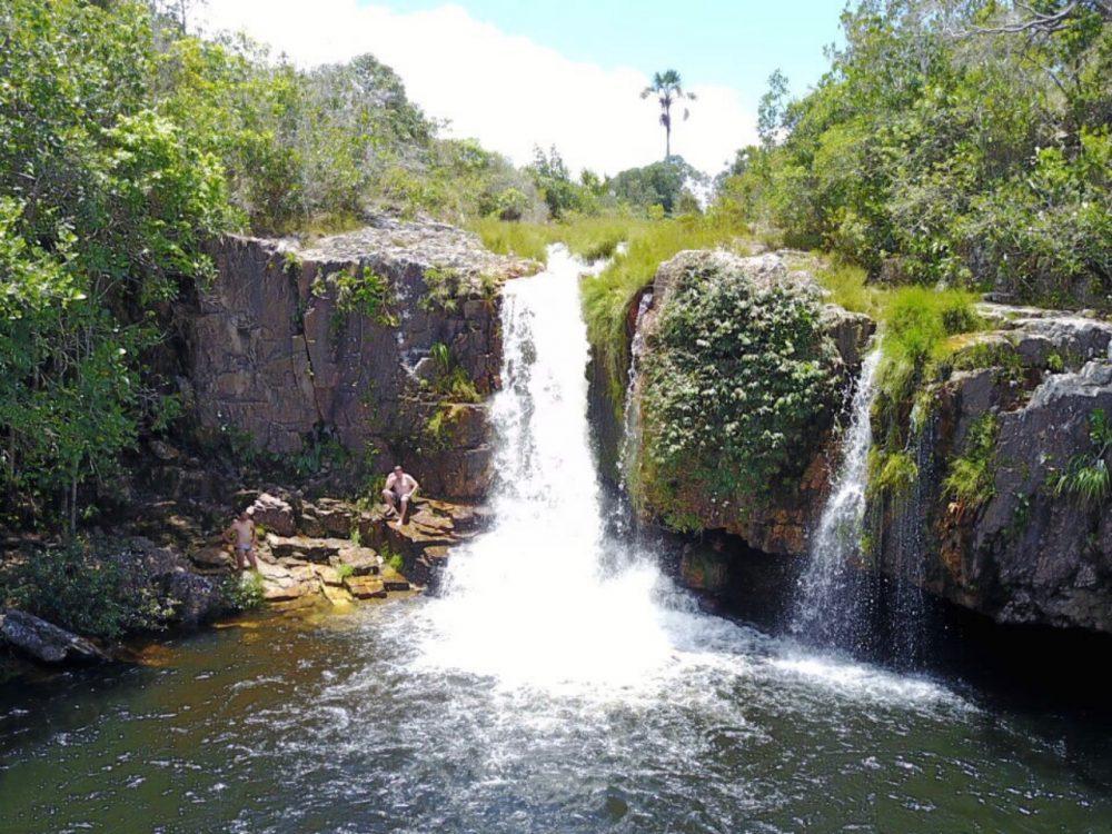 Cachoeira São Bento - dentro da Pousada Fazenda São Bento