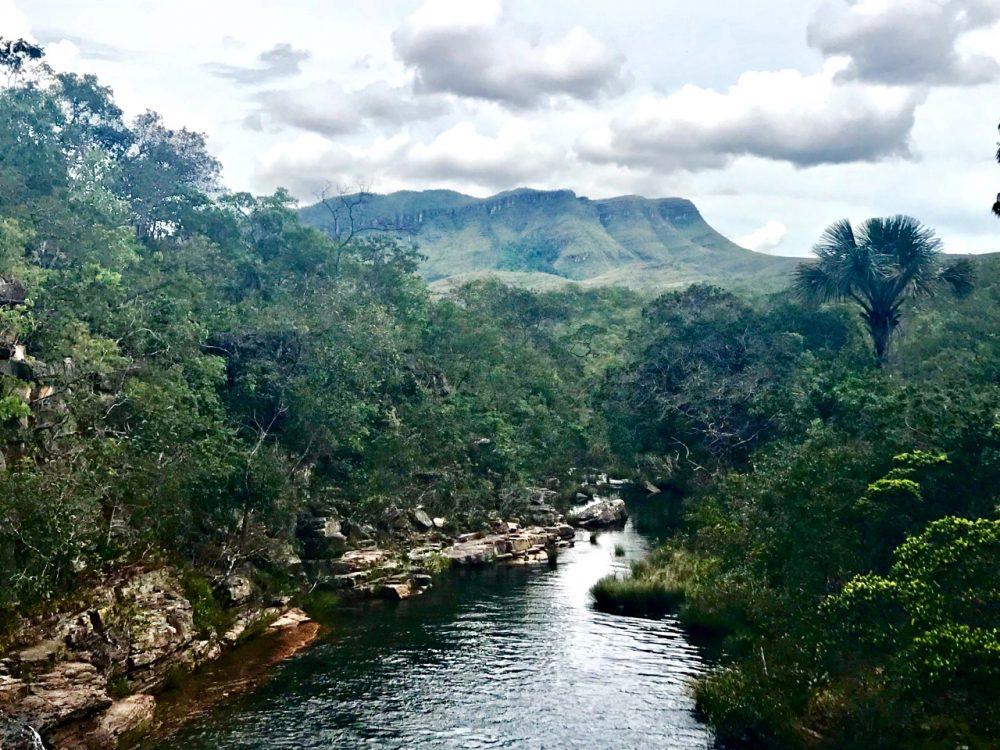 Vista da cachoeira Almécegas II