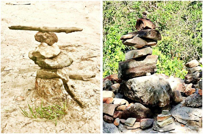 arte e equilibrio - pedras